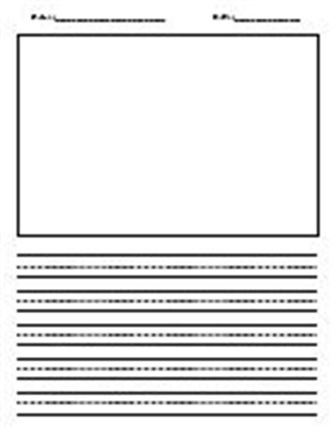 blank writing paper with picture box 1000 images about writing paper templates on