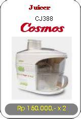 Juicer Cosmos Cj 388 Alat Rumah Tangga Jonbatam