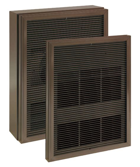 recessed cabinet unit heater wai series indeeco