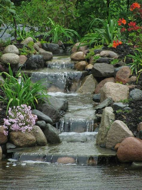 backyard ponds with waterfalls 825 best backyard waterfalls and streams images on