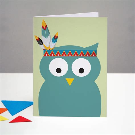 printable owl birthday card party owl birthday card by one little dicky bird