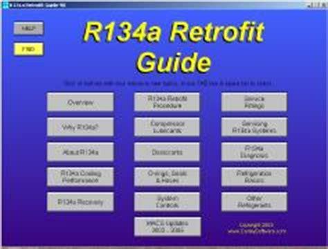 r 12 to r 134a refrigerant retrofit