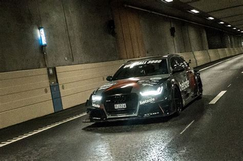 audi r6 wagon an audi rs6 wagon with 900 hp joins uber fleet for a day