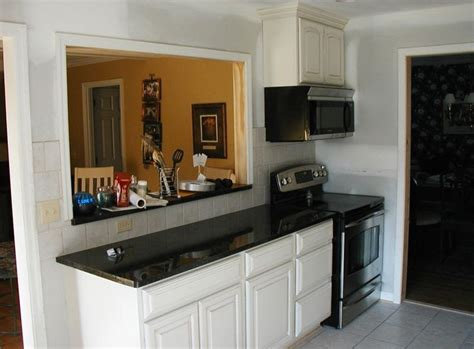 kitchen pass through ideas kitchen move stove microwave and add a pass through decorating ideas