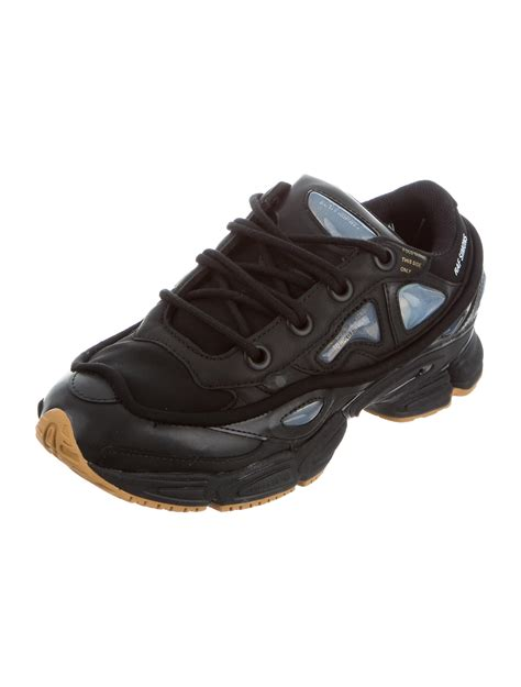 Raf Simons Leather Shoes by Raf Simons X Adidas Ozweego Leather Sneakers Shoes Wraad20128 The Realreal