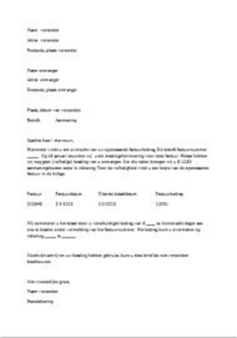 voorbeeld layout artikel download een voorbeeld betalingsherinnering in word