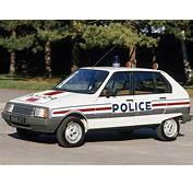 Citro&235n Visa French Police Vehicles