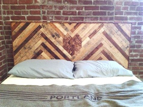 diy headboard reclaimed wood diy headboard with reclaimed wood for the home pinterest