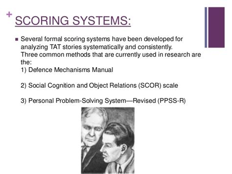 the social cognition and object relations scale global rating method scors g a comprehensive guide for clinicians and researchers books thematic apperception test
