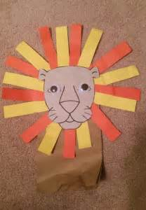 puppet craft for preschoolers glue to