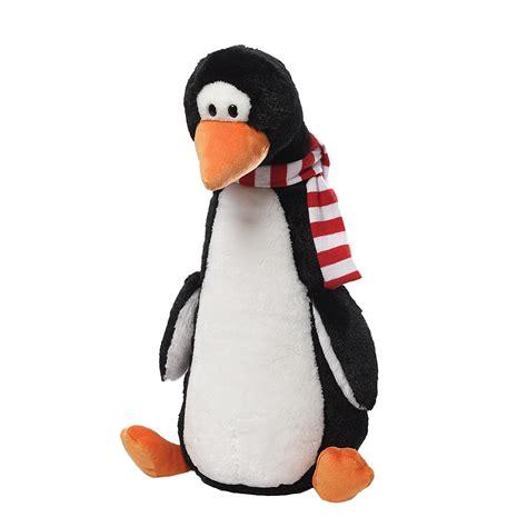 gund longfellow penguin plush soft toy dragon toys teddy