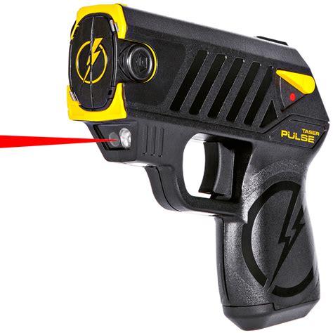 best taser guns taser 174 pulse subcompact shooting stun gun w laser the