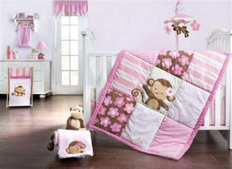 Pink Monkey Crib Bedding Prepossessing Pink Monkey Crib Bedding Sets Beautiful Home Design Planning With Pink Monkey Crib
