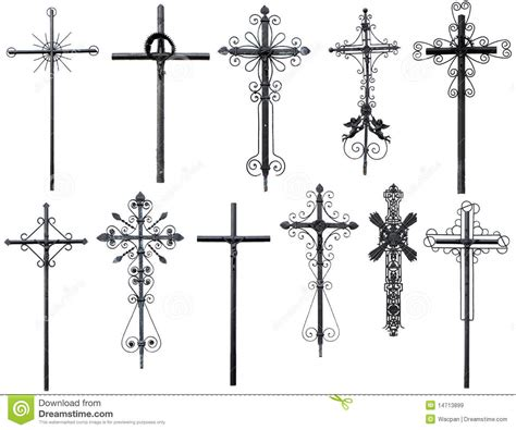 stylized christian cross royalty free stock images image