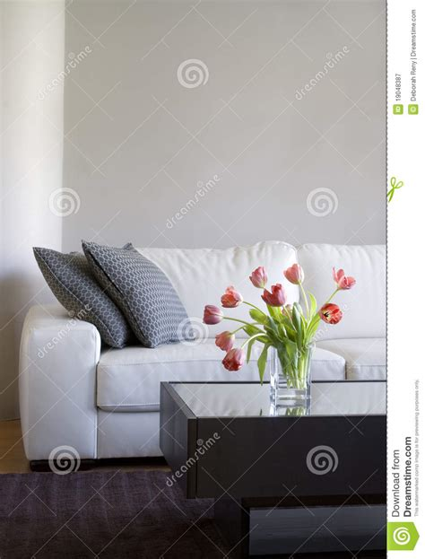 smart living room royalty free stock image image 8885986 red tulips in modern living room home decor royalty free