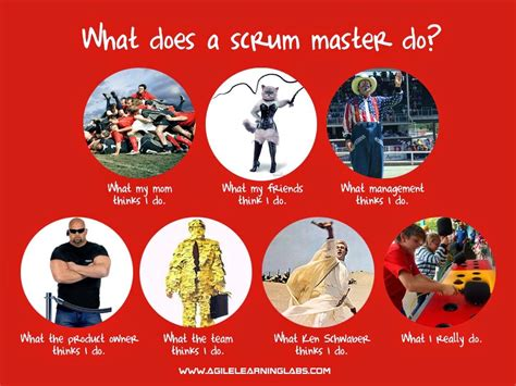 what does a scrum master do