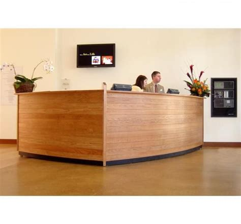 Custom Made Reception Desks Custom Made Reception Desk By Paulus Furniture Custommade