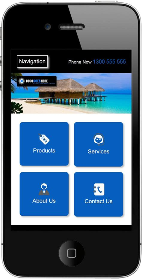 layout template mobile mobile website skin designs