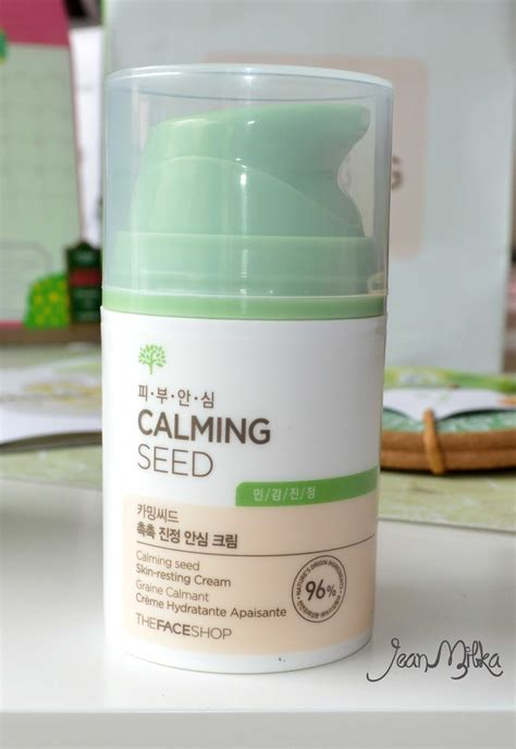 Harga The Shop Calming Seed review the shop new product calming seed skin