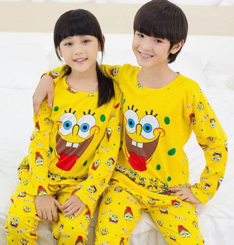 Piyama Sleepwear Character Stln Set Kid Piyama Spongebob compare prices on spongebob pajamas shopping