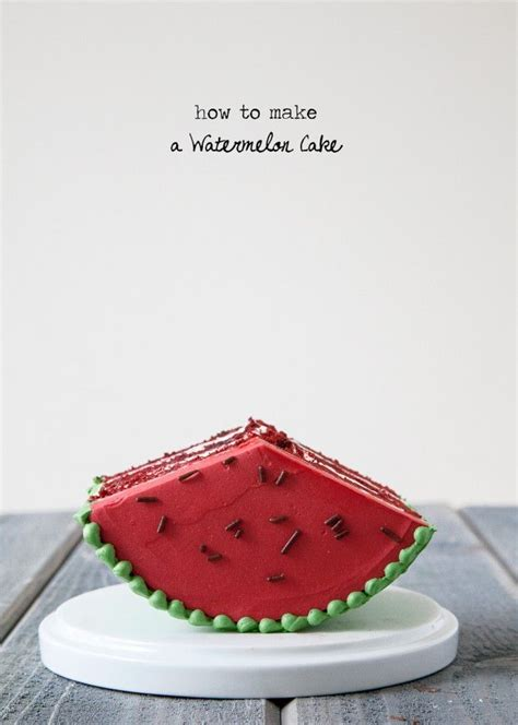 1000 ideas about watermelon cakes on pinterest making a