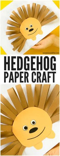 Paper Craft Four Toed Hedgehog paper plate hedgehog craft pins we hedgehog craft paper plates and hedgehogs