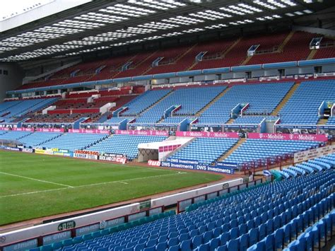layout of villa park stadium villa park the stadium guide