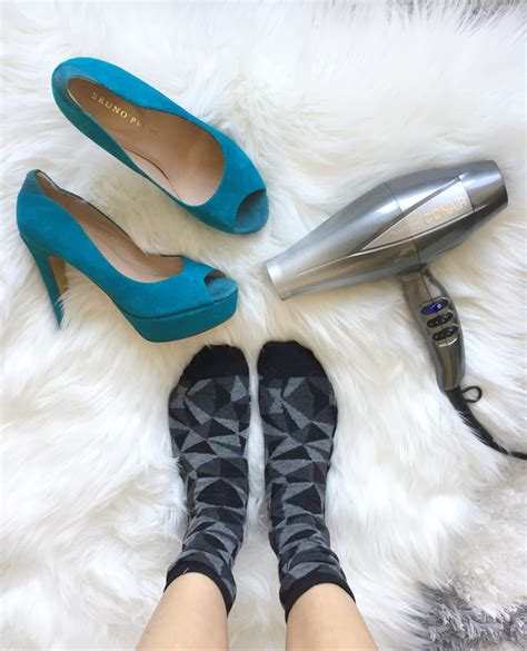 Hair Dryer Leather Shoes how to stretch shoes make shoes bigger