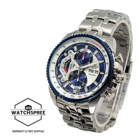 Edifice Ef 558 Blue Silver casio edifice ef 558 at rs 3999 casio