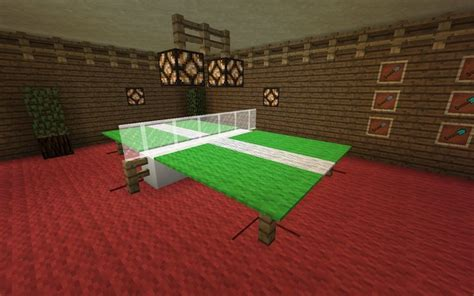cool ping pong tables cool ping pong table minecraft minecraft