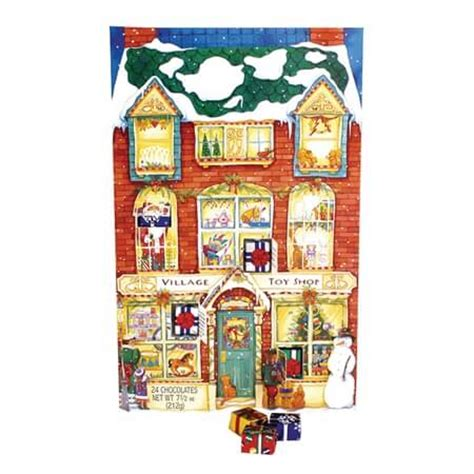 Chocolate Calendar Madelaine Chocolates Advent Calendar