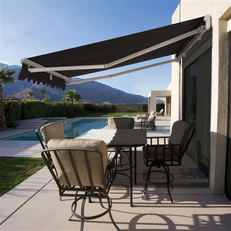 roll out awnings for houses roll out patio window door outdoor awning 3 sizes buy