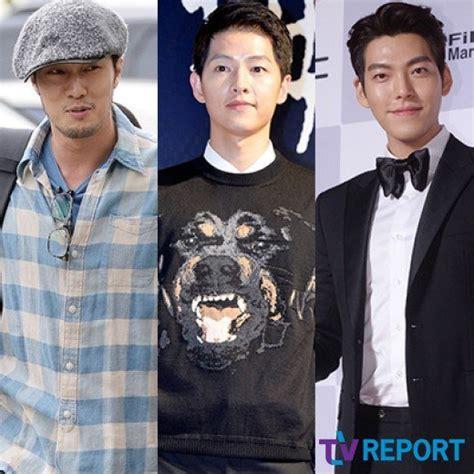 so ji sub and song joong ki so ji sub song joong ki and kim woo bin lee kyeong hee s