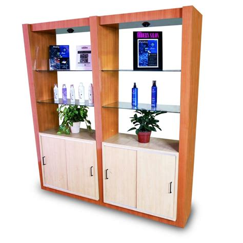 Retail Display Furniture by Millennium Salon Retail Display 1 Veeco Salon Furniture Design
