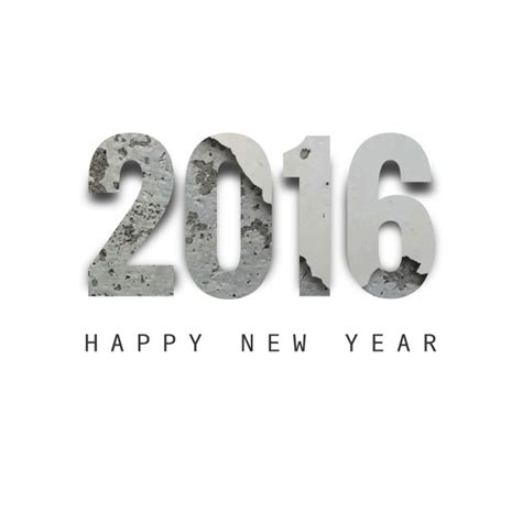 new year design vector free new year 2016 textured text design vector free
