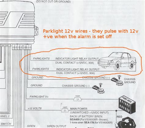 uniden car alarm wiring diagram wiring diagram
