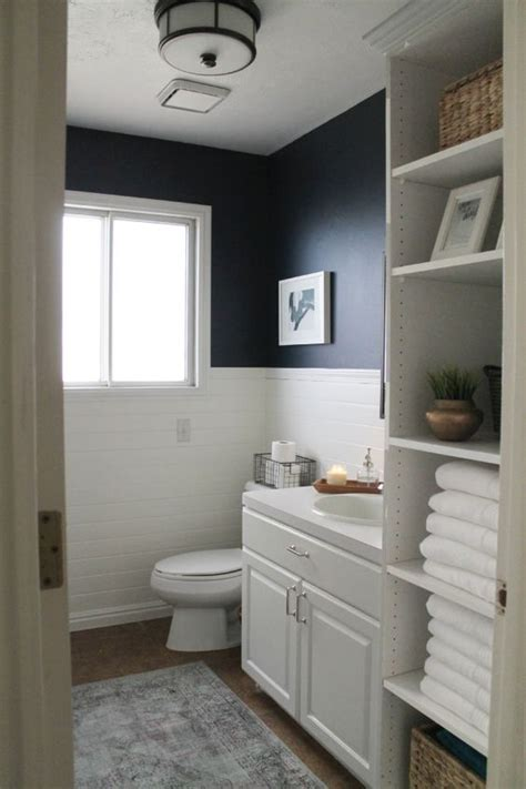 navy and white bathroom navy bathroom decorating ideas