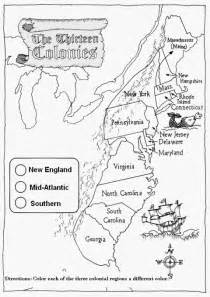 us colonies map printable free coloring pages of the thirteen colonies