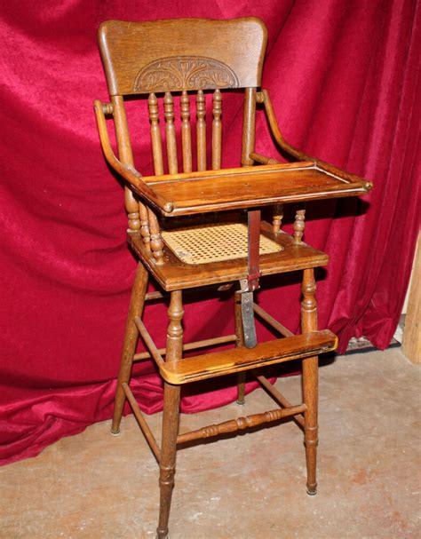High Chairs - antique eastlake oak high chair ebay