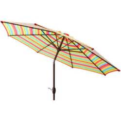Walmart Patio Umbrella Mainstays 9 Market Umbrella Multi Stripe Walmart