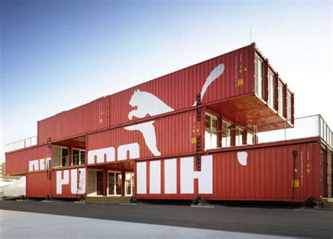 Puma City Shipping Container Store Lot Ek Archdaily | puma city shipping container store lot ek archdaily