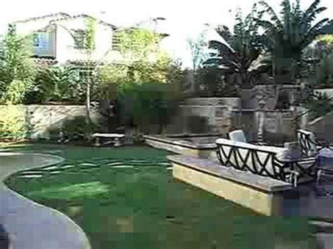 Tropical Backyard Landscaping Ideas Tropical Paradise Backyard Youtube