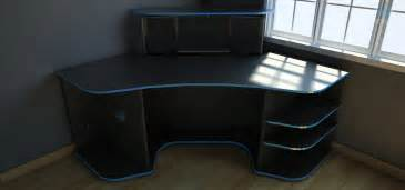 Gaming Desk Plans Corner Desk For Gaming