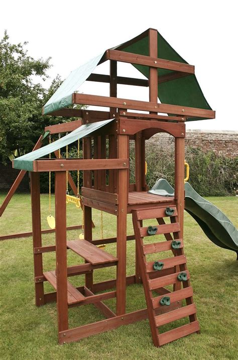 childrens wooden climbing frames swings outdoor swing set garden playground climbing frame kids