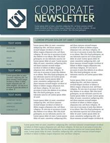 9 free business newsletters templates exles