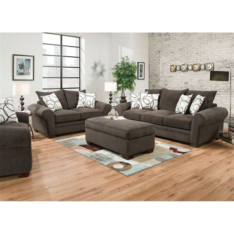 Living Room With Sofa Apollo Living Room Sofa Loveseat 548 Furniture Mattresses Conn S