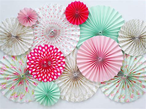 paper fan decorations paper fan backdrop chic stylish weddings