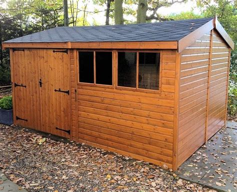 Shed With Side Door Side Door Apex Shiplap Shed 934 All T And G