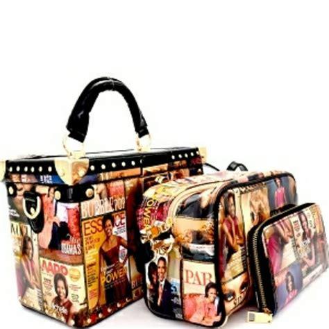 michelle obama handbags 31 off handbags 3 piece michelle obama purse set from