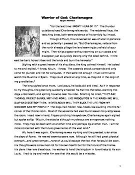 Argumentative Essay Sources by Charlemagne Historical Fiction Reading Essay And Primary Source Sles